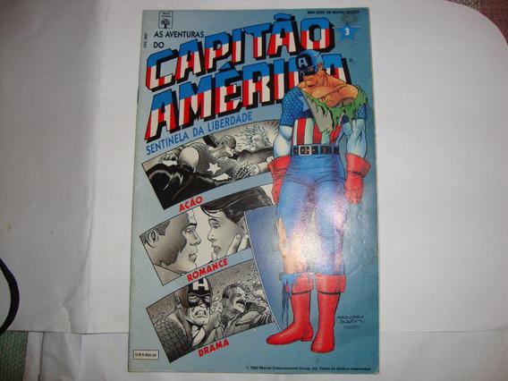 As Aventuras Do Capitão América - N 3