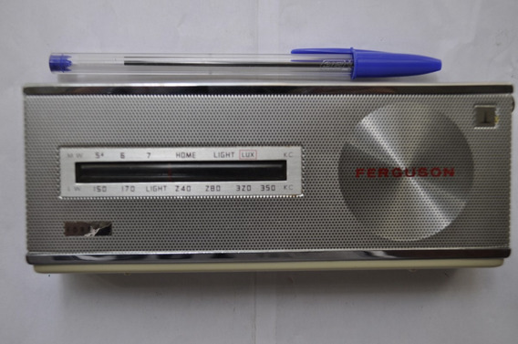 Radio Sony Ferguson Radio Mw/lw Made In Japan