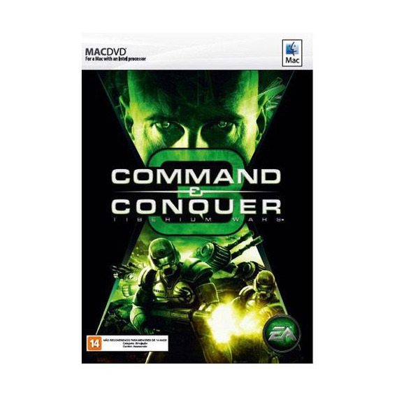 Game Mac Command Conquer 3 Tiberium Wars - Dvdrom