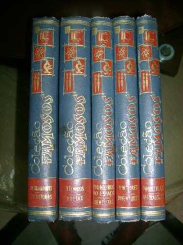 Coleção Famosos De 1964 Com 5 Volumes #