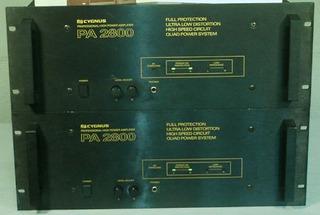 Vendo 01 Amplificador Potência Cygnus Pa 2800 Lindo Raridade