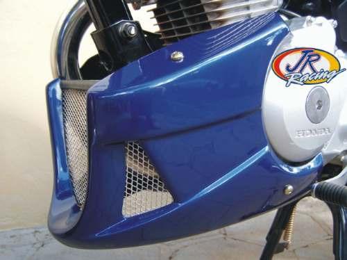 Spoiler Titan 150 Até 2008 Preto Fosco Jr Racing