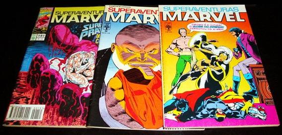 Superaventuras Marvel - Ed Abril - Números Diversos - Raros!