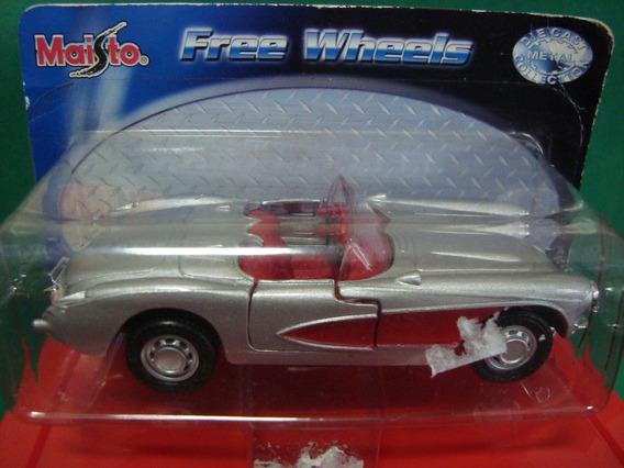 Cx 28 01- Carro Moto Avião Miniatura Chevrolet Corvette