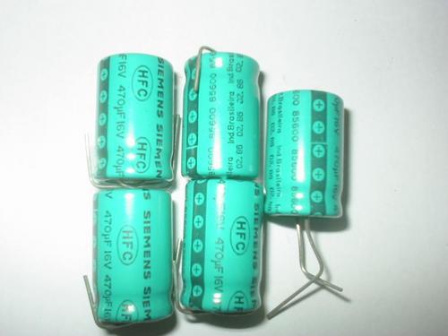 Eletrolítico 470x16v Siemens