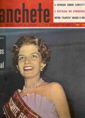 Manchete Nº 42: Fawcett - Miss - Lampião - Corinthians 1953