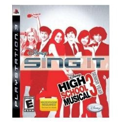Jogo Impecavel Disney Sing It High School Musical 3 Para Ps3