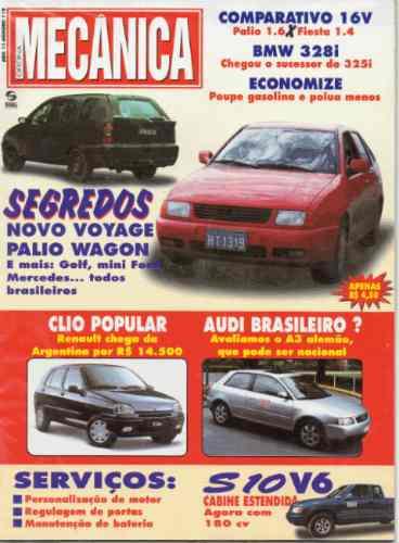 Oficina Mecânica Nº119 Palio Fiesta 16v Bmw 328i Audi A3 S10