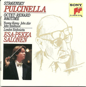 Igor Stravinsky Pulcinella Esa-pekka Salonen Cd Importado