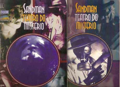 Sandman Teatro Do Mistério - A Vamp - 2 Edições - 1998