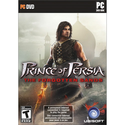 * Game Pc Prince Of Persia The Forgotten Sands - Dvdrom