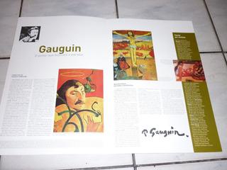 Livro (encarte) E Posters De Gauguin
