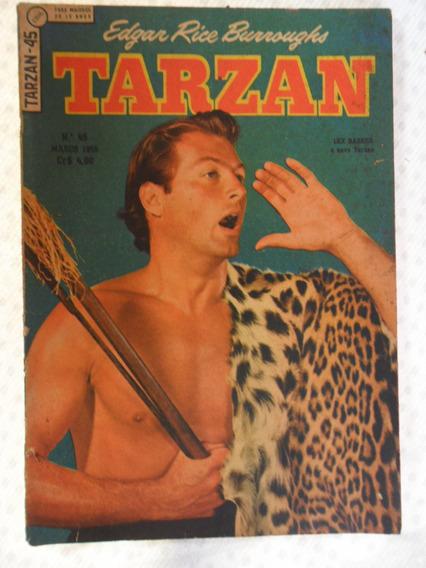 Tarzan Nº 45! 1ª Série! Ebal Mar De 1955!