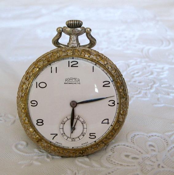 Raridade - Relógio De Bolso Roamer!