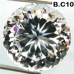 Espetacular Diamante Branco De Laboratório Russo 25.05 Cts.