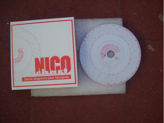 Caja Tacografo Semanal Nico Chart. (10 Jgos.)