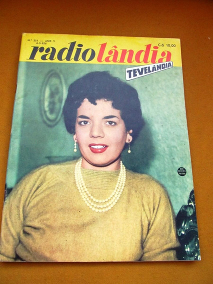 Radiolandia Familia Cauby Nos States Sergio Murilo Joao Dias