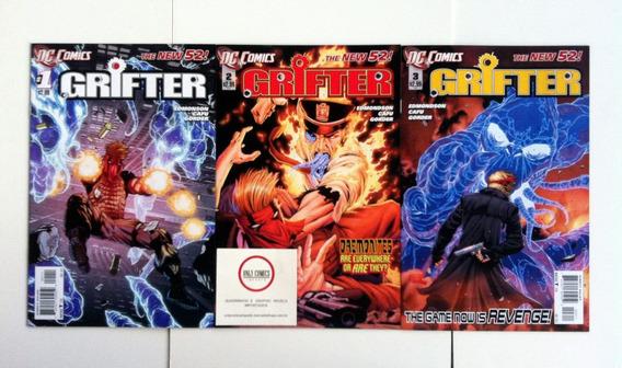 Grifter - Pack Do #0 Ao 10 (2011/12) The New 52 Dc Comics