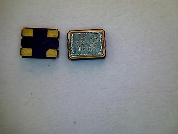 Cristal Oscilador 48mhz Pacote Com 8 Peças
