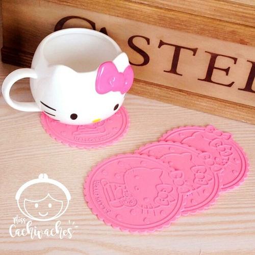 Imagen 1 de 1 de Set Posavasos Hello Kitty