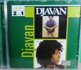 Cd Djavan 2 Lps Em 1 Cd Original Pop Rock Dance Funk Black