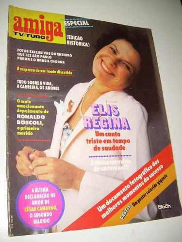 Amiga Edição Especial Histórica - Elis Regina