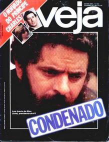 Veja Nº 652: O Noivado De Charles E Diana - Lula Condenado