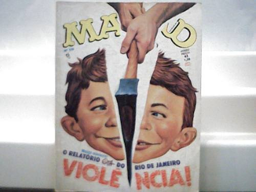 Revista Mad Nº 110 / Editora Record Novembro 1994