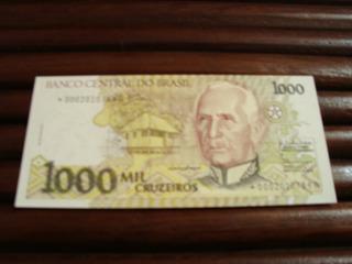 Cedulas De 1000 Cruzeiros * (fe)