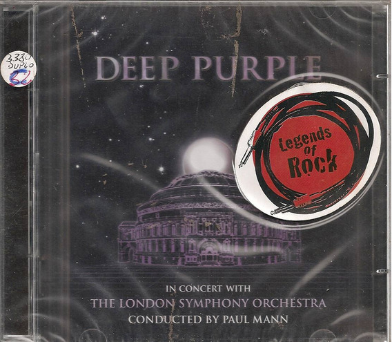 Deep Purple - The London Symphony Orchestra Cd Duplo Lacrado