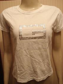 Camiseta Da Gucci C/ Tachas E Strass Made In Italy Tam P