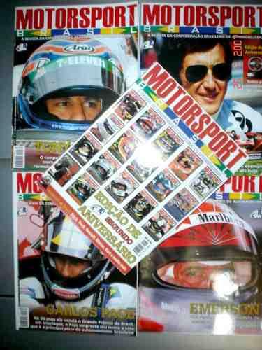 Revista Motorsport Brasil Cba F1  Programa Oficial Gp Brasil