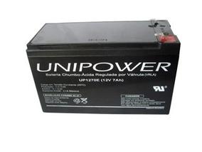 Bateria Para Nobreak 12v 7ah Unipower Up1270 Seg