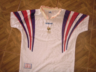 Camisa Da França Seleção Anos 80 Original adidas