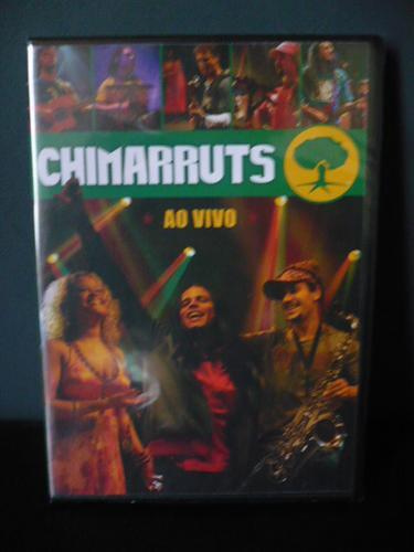 Chimarruts - Ao Vivo - Dvd Novo Lacrado