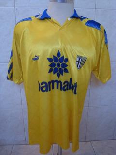 Camisa De Futebol Do Parma - Puma - Parmalat