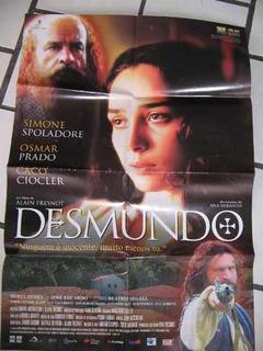 Cartaz 75x95 Fernanda Montenegro Osmar Prado Desmundo Simone