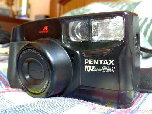 Pentax Iqzoon 900, Excelente Estado E Defeito No Disparador.