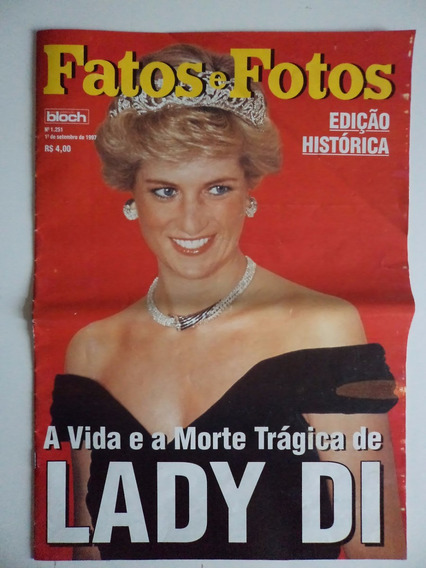 Revista Fatos E Fotos Lady Di