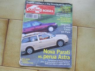 Revista Antiga 4 Rodas E Carro De 1995 Para Coleção
