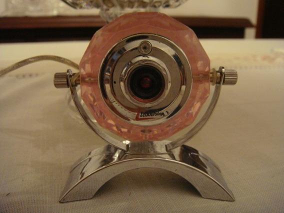 Webcam Crystal 350kp Rosa Leadership
