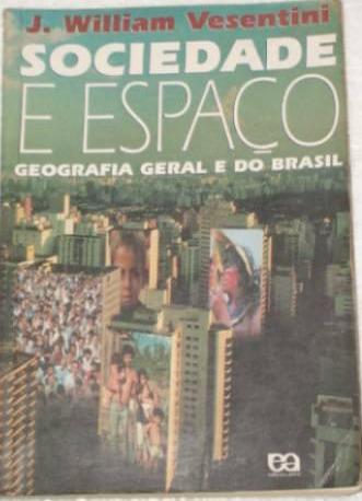 Livro Geografia Sociedade E Espaço William Vesentini Geral