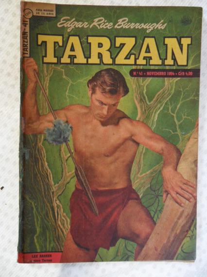 Tarzan Nº 41! 1ª Série! Ebal Nov De 1954!