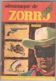 *ock*almanaque Zorro De 1965-edit.ebal. Muito Bom