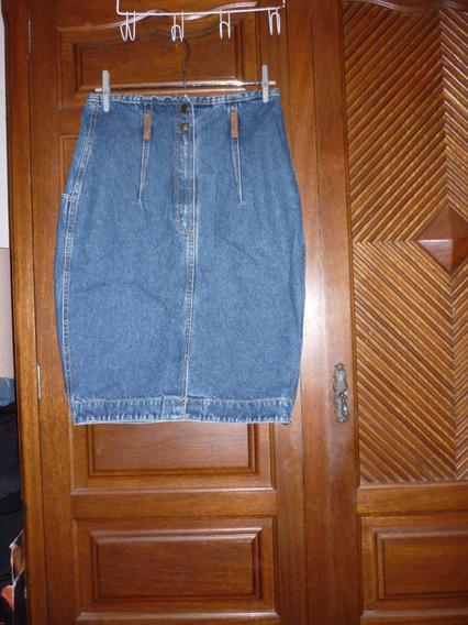 Saia Em Jeans 44