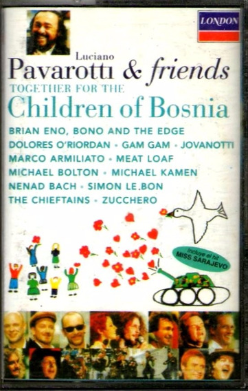 Cassette Luciano Pavarotti & Friends. Children Of Bosnia