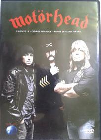 Dvd Motorhead Rock In Rio 2011