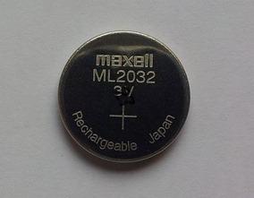 Bateria Maxell Ml-2032 3v Recarregavel