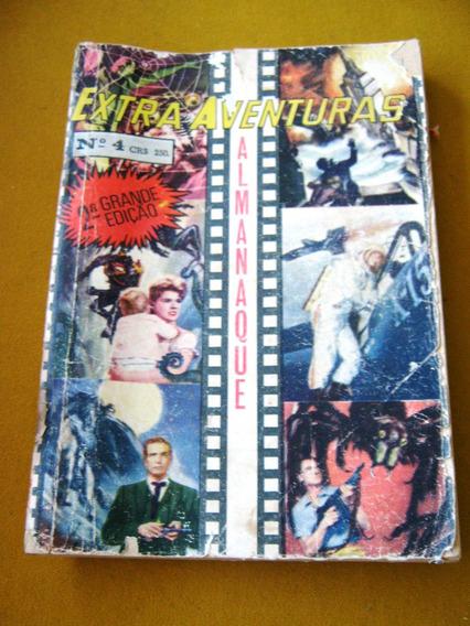 Ediex Almanaque Extra Aventuras Tarantula Ilha Do Terror +2