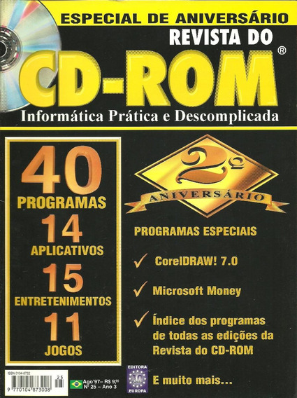 Revista Do Cd-rom Nº25